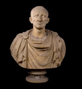 Busto di Galba, sommamente fedele al vero, uno dei ritratti più rari della serie imperiale, provenienza Otricoli. (n. catalogo 533 | credits: Fondazione Torlonia Onlus)