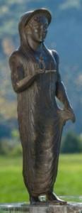 La Grande Kore esposta nel Museo Etrusco di Marzabotto (foto di Iago C)