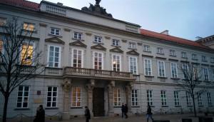 """Il Palazzo Tyszkiewicz-Potocki, che ospita l'Istituto di Musicologia - luogo della conferenza """"Musica nell'Archeologia"""". Foto di S. Zdziebłowski"""