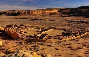 Pueblo Bonito, Chaco Canyon, New Mexico. Credit: Nate Crabtree