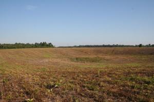 Grande depressione nel paesaggio agricolo, presso Ramal do Funil. Credit: Per Stenborg