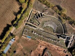 Amiternum - Teatro romano
