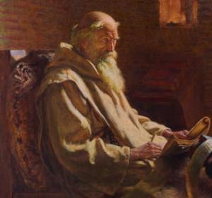 The_Venerable_Bede_translates_John_1902
