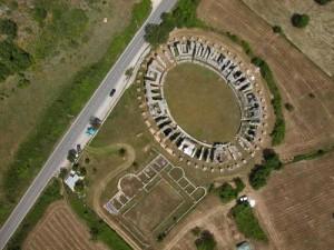 Amiternum - Anfiteatro romano