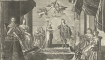Il matrimonio da Guglielmo II d'Orange e Maria Enrichetta Stuart, 1641. Credits: Rijksmuseum