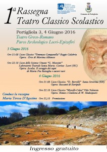 1^ Rassegna - Teatro Classico Scolastico -