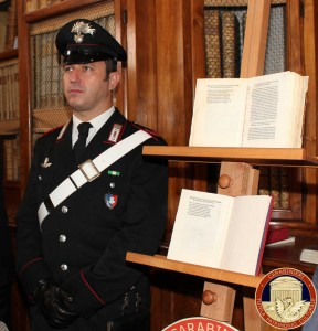 Credit foto - Comando Carabinieri Tutela Patrimonio Culturale