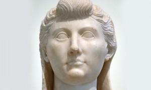 Busto di Livia, moglie dell'Imperatore Augusto
