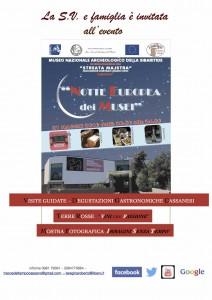 Museo Nazionale Archeologico della Sibaritide - Notte Europea dei Musei