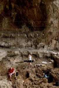 La grotta Hilazon Tachtit in Israele settentrionale. Credit: Naftali Hilger