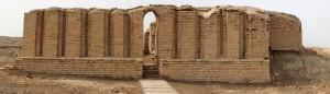 Tempio Edublamakh  a Abu Tbeirah. Foto dell'Archivio Ufficio stampa Sapienza Università di Roma
