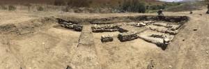 panoramica scavo