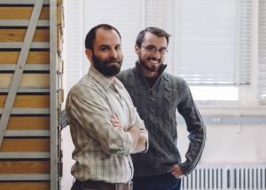Gli antropologi dell'Università dello Utah, Brian Codding ed Elic Weitzel. Credit: University of Utah