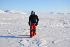 Andrea Spolaor alle Svalbard