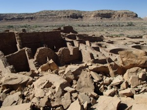 Rovine a Chaco Canyon. Credit: Kenneth Barnett Tankersley