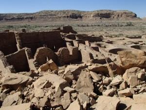 Rovine a Chaco Canyon. Credit: Kenneth Barnett Tankersley