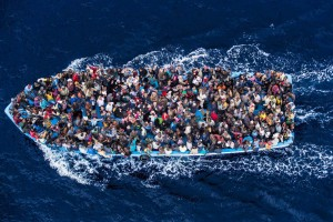 Foto di Massimo Sestini: Mare Nostrum, 2014, secondo premio categoria singles, General News al World Press Photo Award 2015