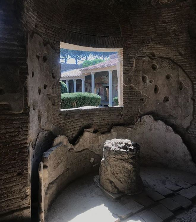 Pompei Terme di Giulia Felice