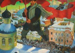 Rivoluzione d'Ottobre Palazzo d'Inverno Pietrogrado Russia