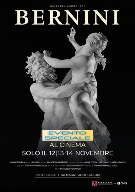Gian Lorenzo Bernini docufilm Galleria Borghese Magnitudo Film
