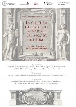 antico a Napoli nel secolo dei lumi