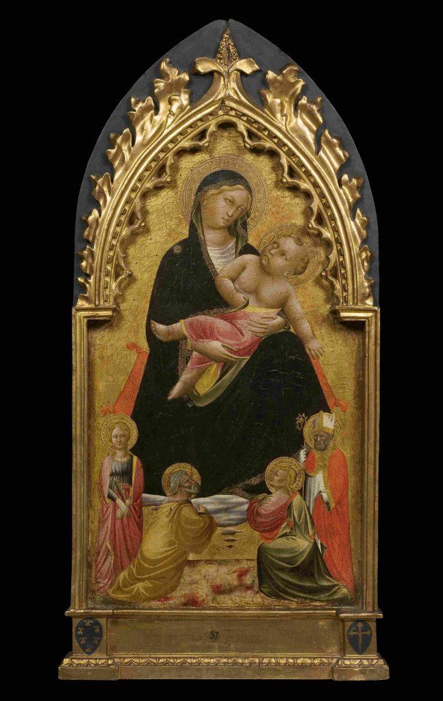 Maestro della Cappella Bracciolini Galleria dell'Accademia di Firenze mostre Madonna con santi