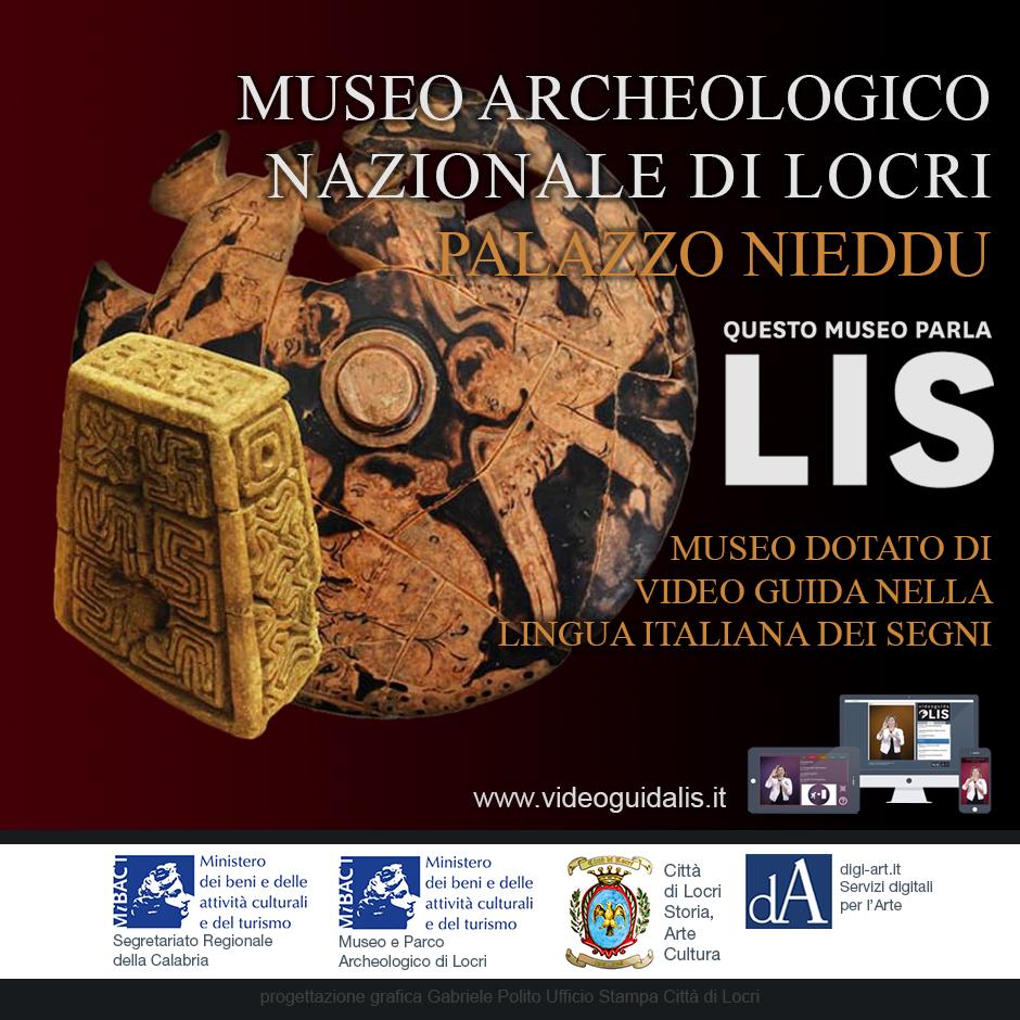 Un giorno all'anno tutto l'anno Museo Archeologico Nazionale di Locri Palazzo Nieddu Del Rio Lingua italiana dei segni LIS