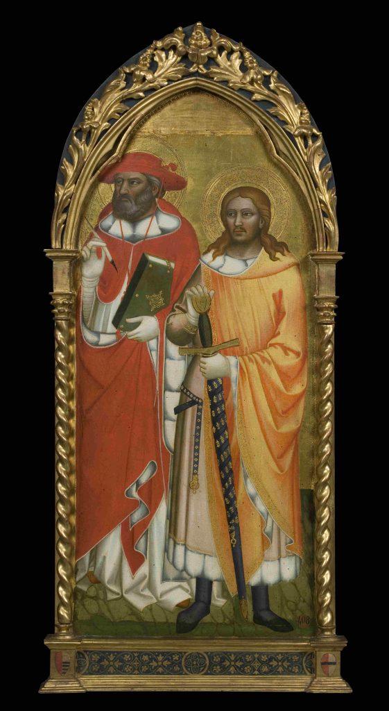 Niccolò Gerini, Niccolò di Pietro Gerini, SS. Girolamo e Giuliano Galleria dell'Accademia di Firenze mostre