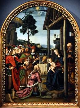 Adorazione dei Magi del Perugino Milano mostre