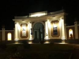 illuminazione ingresso Parco corso Resina 2 Parco Archeologico di Ercolano
