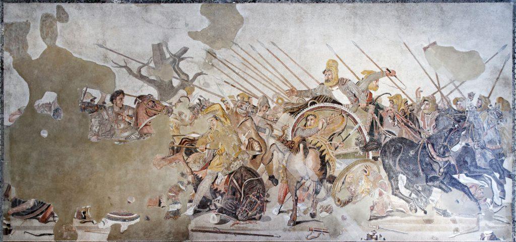 Alessandro Magno Pompei Battaglia di Isso