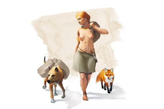 dogs foxes Can Roqueta Minferri Spain Bronze Age prehistory