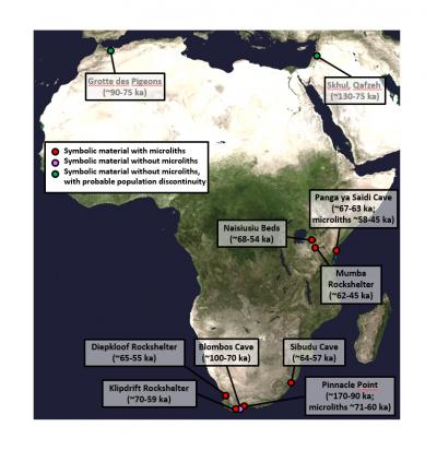 out-of-Africa migration dispersal of Homo sapiens origins of modern humans eastern Africa