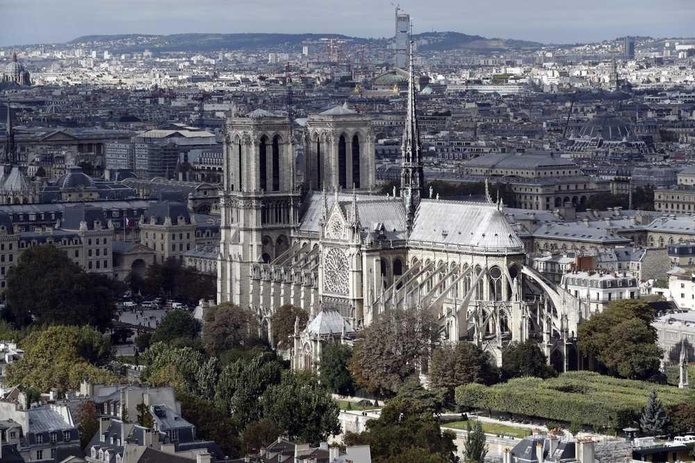 incendio alla Cattedrale di Notre Dame de Paris