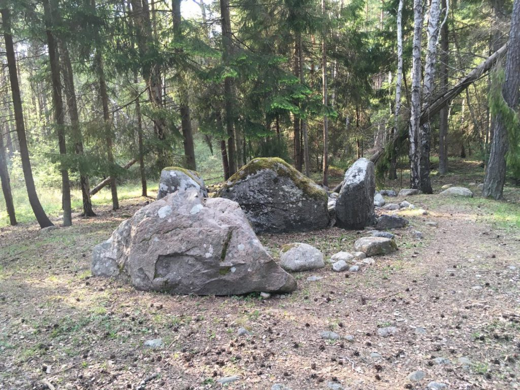 Megalith tombs Ansarve site Listhogil site Primrose Grange Carrowmore site archaeogenetics