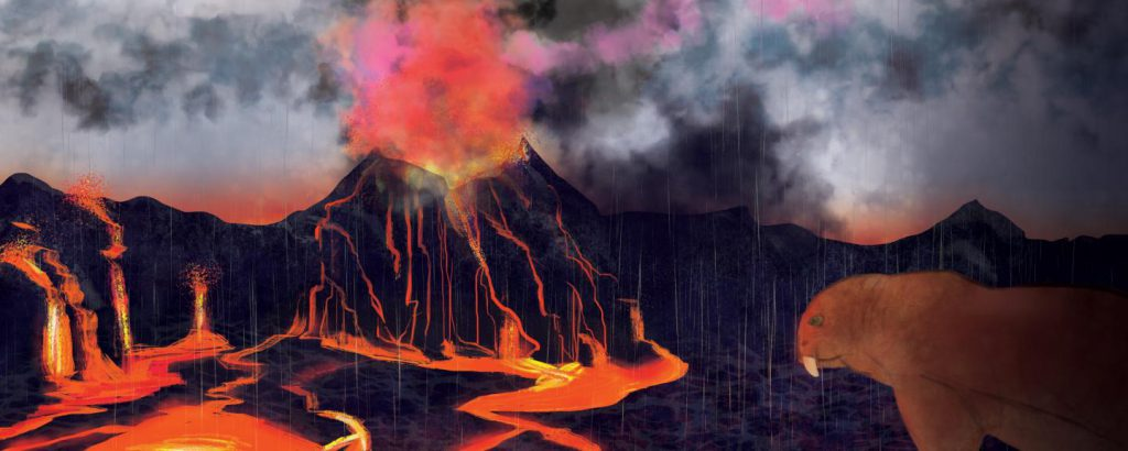 Permian-Triassic extinction event mass extinction the Great Dying