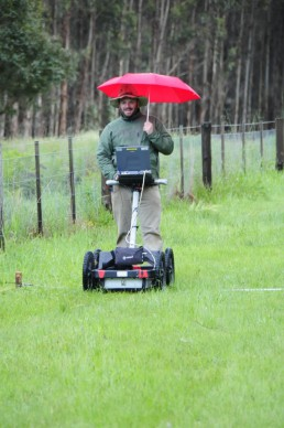 Subsurface imaging technology ground penetrating radar Australia Victoria graves
