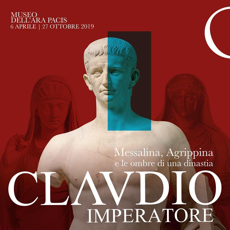Claudio CLAVDIO IMPERATORE Museo dell'Ara Pacis dinastia giulio-claudia