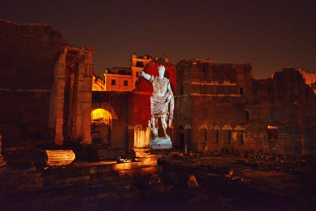 Viaggi nell'antica Roma Foro di Augusto Paco Lanciano