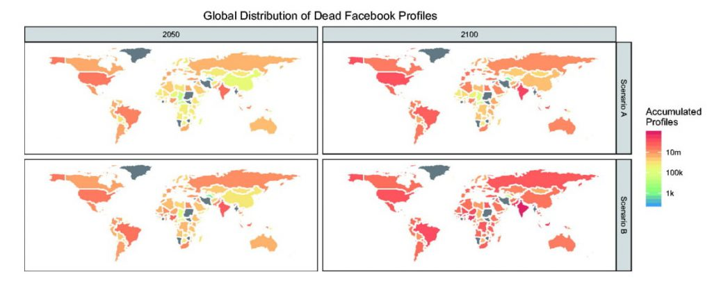 Facebook dead University of Oxford Oxford Internet Institute OII