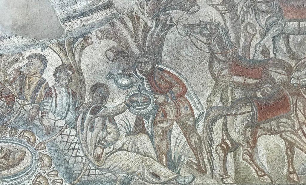 villa romana Tellaro