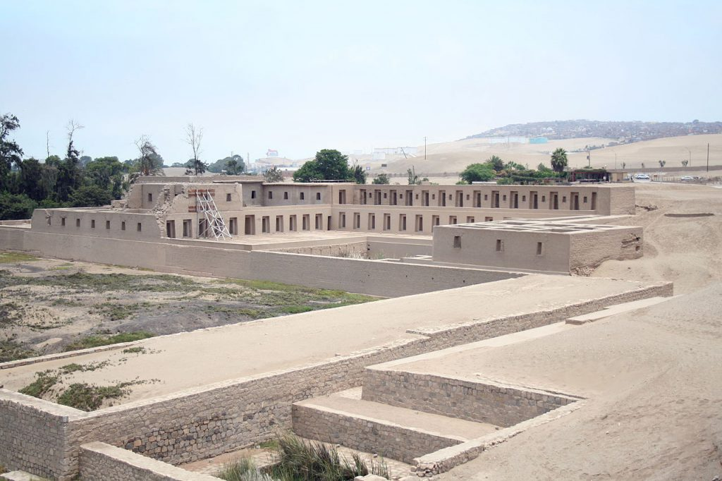 Pachacamac Incas Inca tombs