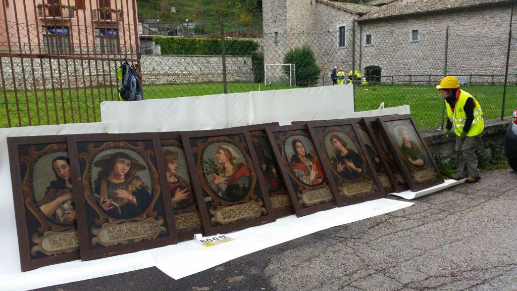 mostra mostre territorio terremoto Marche