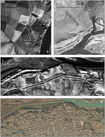 canal system Assyrians Iraq U2 spy plane Middle East