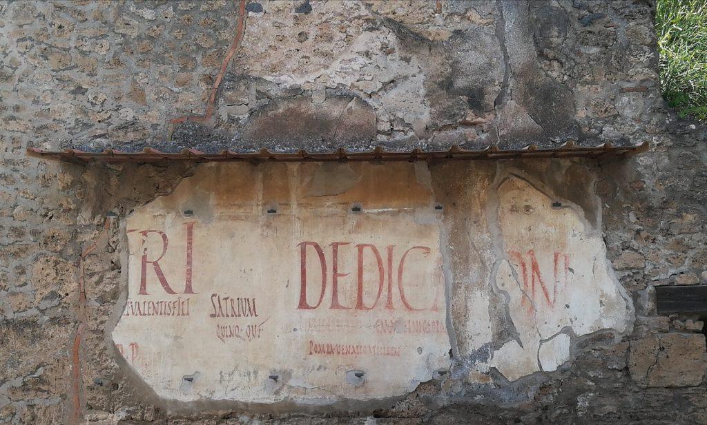 Iscrizioni elettorali a Pompei. Foto: Alessandra Randazzo