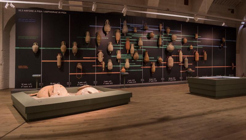 Anfore. Museo delle Navi Antiche