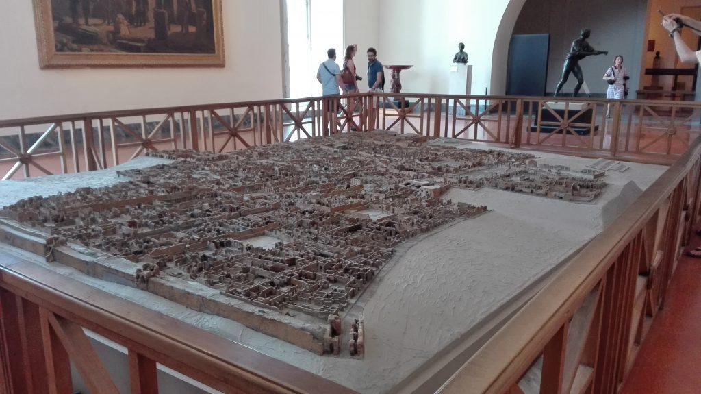 Plastico di Pompei, Museo archeologico di Napoli. Foto di Alessandra Randazzo