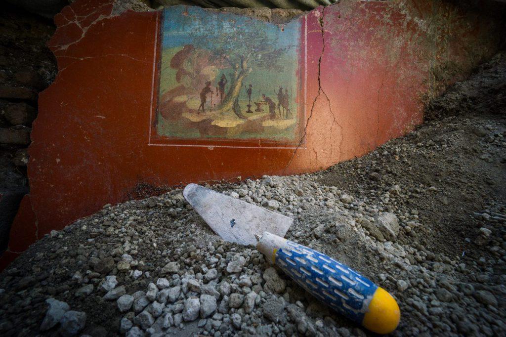 Italia, dimore di pregio scoperte a Pompei_Quadretto idillico Casa a Nord del giardino