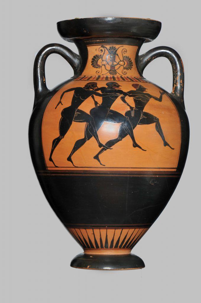 Vaso attico a figure nere (VI sec. a. C.)
