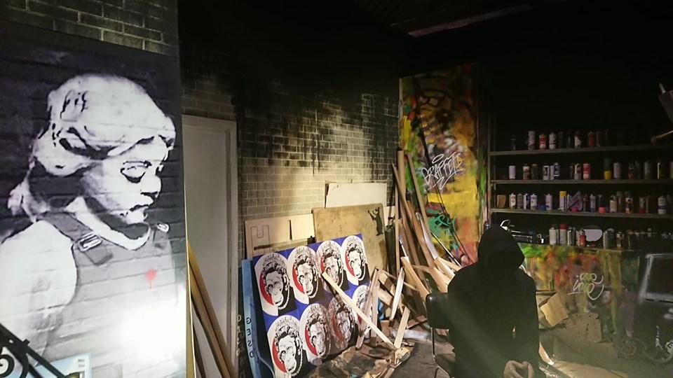 Banksy genius vandal